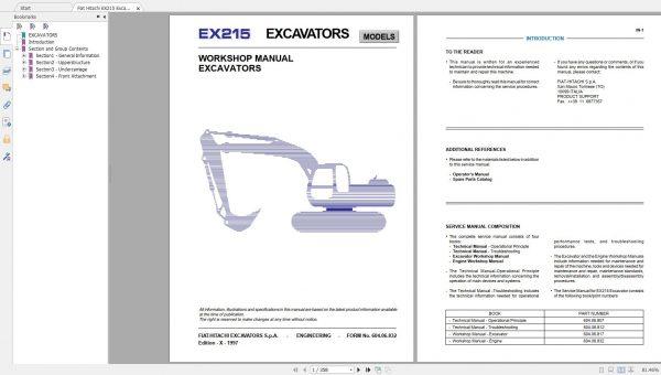 Fiat-Hitachi-107-GB-PDF-Excavator-Backhoe-Loader-Crawler-Dozer-Wheel-Loader-Workshop-Manual-5