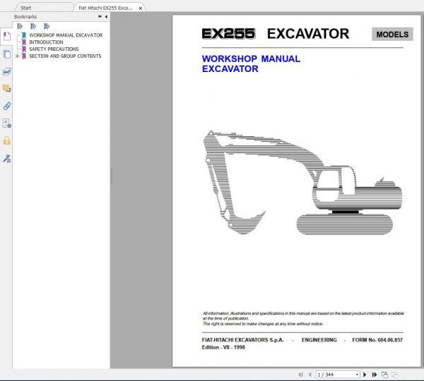 Fiat-Hitachi-107-GB-PDF-Excavator-Backhoe-Loader-Crawler-Dozer-Wheel-Loader-Workshop-Manual-6