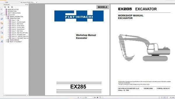 Fiat-Hitachi-107-GB-PDF-Excavator-Backhoe-Loader-Crawler-Dozer-Wheel-Loader-Workshop-Manual-7