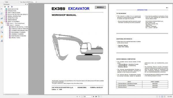 Fiat-Hitachi-107-GB-PDF-Excavator-Backhoe-Loader-Crawler-Dozer-Wheel-Loader-Workshop-Manual-8
