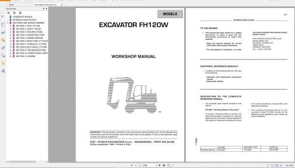 Fiat-Hitachi-107-GB-PDF-Excavator-Backhoe-Loader-Crawler-Dozer-Wheel-Loader-Workshop-Manual-9
