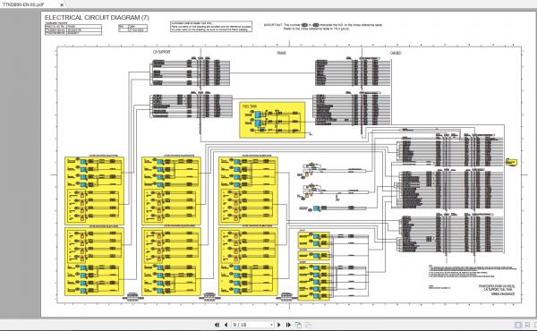 Hitachi-Hydraulic-Excavator-Mining-EX2000-7-EX2000-7B-Electrical–Hydraulic-Circuit-Diagram-Fault-Code-List-2