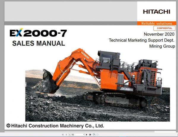 Hitachi-Hydraulic-Excavator-Mining-EX2000-7-Sales-Manual