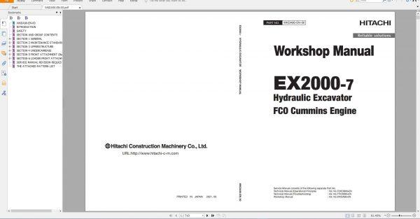Hitachi-Hydraulic-Excavator-Mining-EX2000-7-Workshop-Manual_FC0-Cummins-Engine