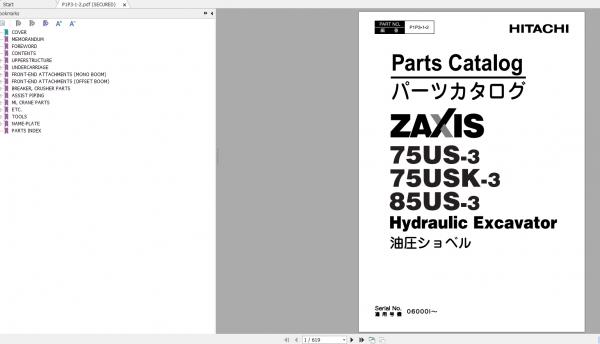 Hitachi-Hydraulic-Excavator-ZX70-3—ZX85US-3-Shop-Manuals-6