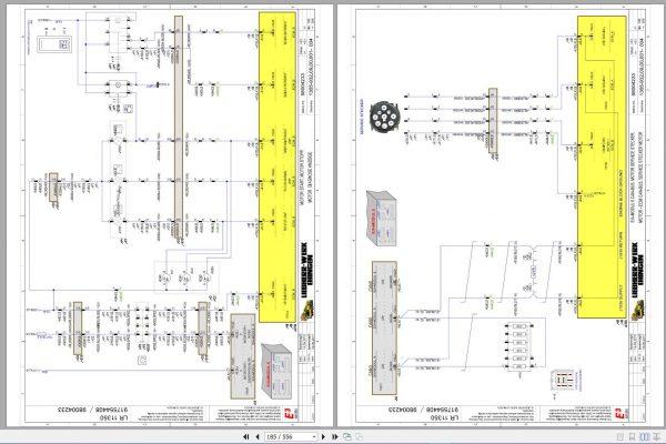 Liebherr-Crawler-Crane-LR-11350-1350-ton-Electric-and-Hydraulic-Circuit-Diagram-10