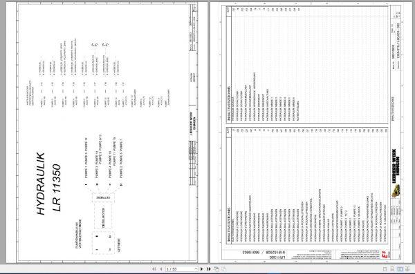 Liebherr-Crawler-Crane-LR-11350-1350-ton-Electric-and-Hydraulic-Circuit-Diagram-11