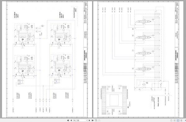 Liebherr-Crawler-Crane-LR-11350-1350-ton-Electric-and-Hydraulic-Circuit-Diagram-12