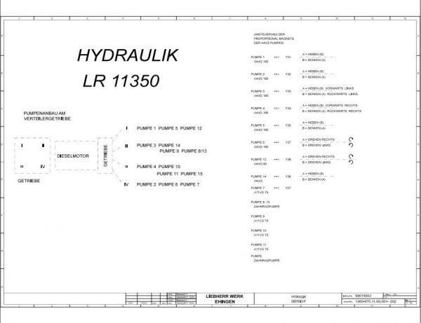 Liebherr-Crawler-Crane-LR-11350-1350-ton-Electric-and-Hydraulic-Circuit-Diagram-2