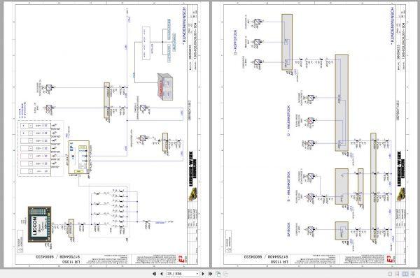 Liebherr-Crawler-Crane-LR-11350-1350-ton-Electric-and-Hydraulic-Circuit-Diagram-4