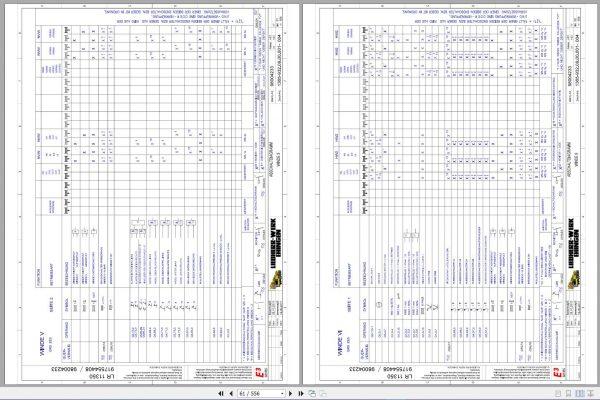 Liebherr-Crawler-Crane-LR-11350-1350-ton-Electric-and-Hydraulic-Circuit-Diagram-5