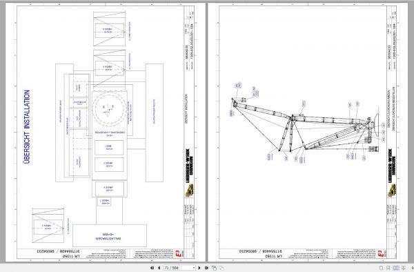 Liebherr-Crawler-Crane-LR-11350-1350-ton-Electric-and-Hydraulic-Circuit-Diagram-6
