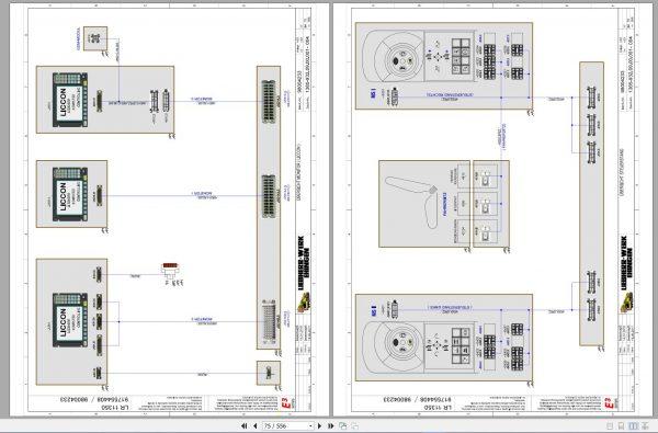 Liebherr-Crawler-Crane-LR-11350-1350-ton-Electric-and-Hydraulic-Circuit-Diagram-7