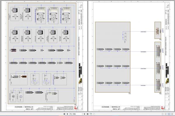 Liebherr-Crawler-Crane-LR-11350-1350-ton-Electric-and-Hydraulic-Circuit-Diagram-8