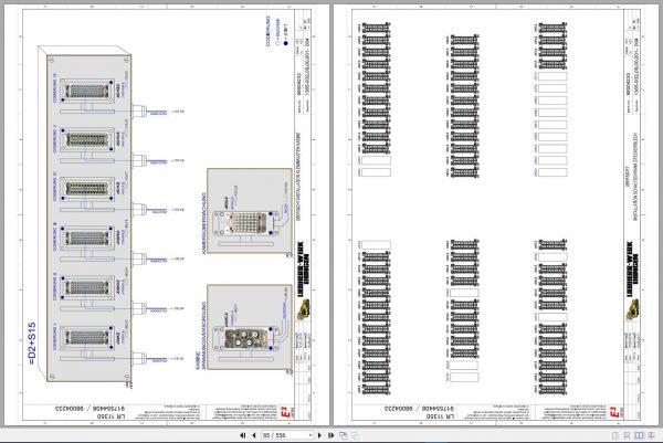 Liebherr-Crawler-Crane-LR-11350-1350-ton-Electric-and-Hydraulic-Circuit-Diagram-9