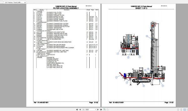 CAT-Rotary-Track-Drills-8.40GB-Full-Models-Spare-Parts-Manuals-PDF-DVD-10
