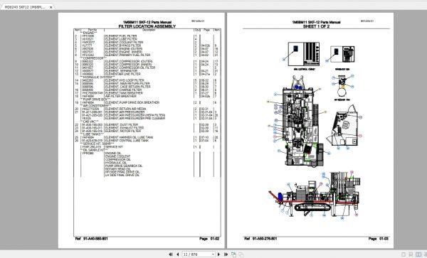CAT-Rotary-Track-Drills-8.40GB-Full-Models-Spare-Parts-Manuals-PDF-DVD-5