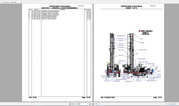 CAT-Rotary-Track-Drills-8.40GB-Full-Models-Spare-Parts-Manuals-PDF-DVD-7