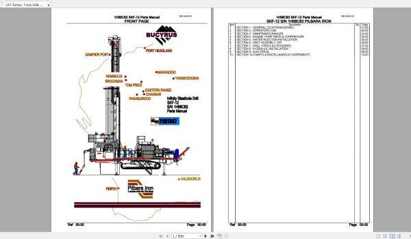 CAT-Rotary-Track-Drills-8.40GB-Full-Models-Spare-Parts-Manuals-PDF-DVD-8