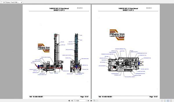 CAT-Rotary-Track-Drills-8.40GB-Full-Models-Spare-Parts-Manuals-PDF-DVD-9