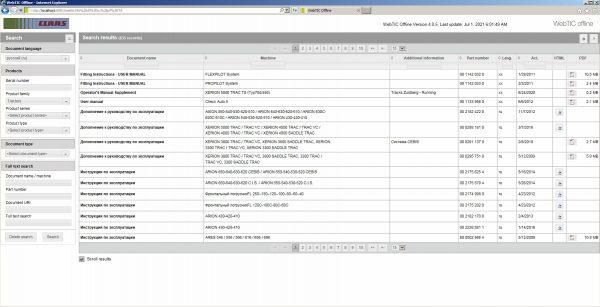 CLAAS-WebTIC-Offline-RU_Russian-07.2021-Operator-Repair-Manual–Service-Documentation-DVD-3