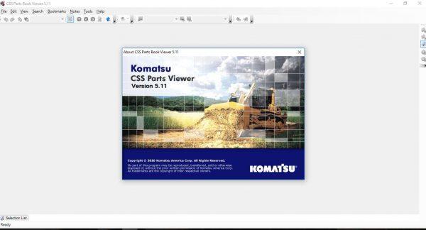 CSSPARTS-Komatsu-Link-One-CSS-Parts-JAPAN–EUR–USA-07.2021-Spare-Parts-Catalog-DVD-1