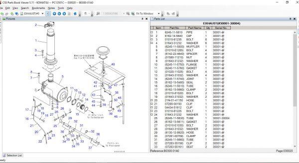 CSSPARTS-Komatsu-Link-One-CSS-Parts-JAPAN–EUR–USA-07.2021-Spare-Parts-Catalog-DVD-7