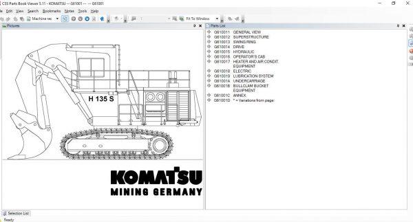 CSSPARTS-Komatsu-LinkOne-CSS-EPC-USA-07.2021-Spare-Parts-Catalog-4