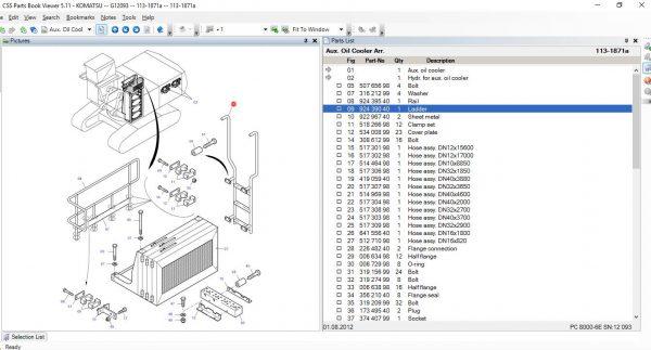 CSSPARTS-Komatsu-LinkOne-CSS-EPC-USA-07.2021-Spare-Parts-Catalog-5