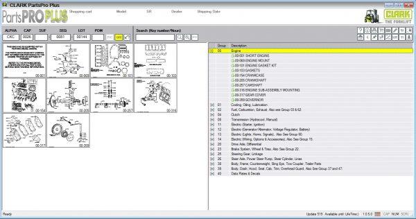 Clark-ForkLift-Parts-Pro-Plus-v519-07.2021-Spare-Parts-Catalog-DVD-2