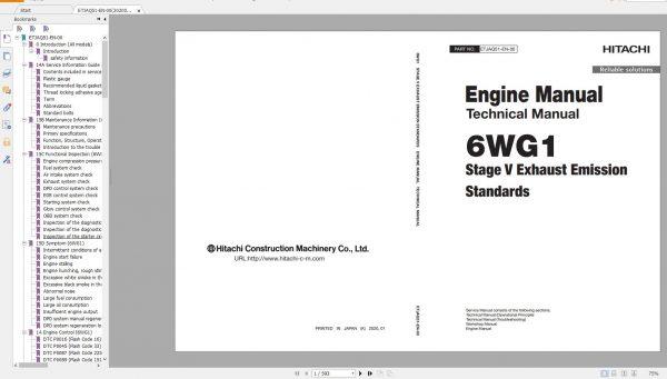 Hitachi-Excavator-Series-7-ZX7-2021-6.07GB-Technical-Manual-Part-Catalog-Workshop-Manual-Circuit-Diagram-10