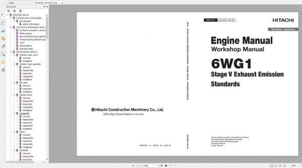 Hitachi-Excavator-Series-7-ZX7-2021-6.07GB-Technical-Manual-Part-Catalog-Workshop-Manual-Circuit-Diagram-2