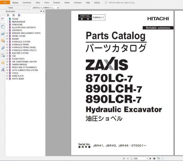 Hitachi-Excavator-Series-7-ZX7-2021-6.07GB-Technical-Manual-Part-Catalog-Workshop-Manual-Circuit-Diagram-4