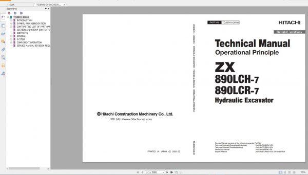 Hitachi-Excavator-Series-7-ZX7-2021-6.07GB-Technical-Manual-Part-Catalog-Workshop-Manual-Circuit-Diagram-6