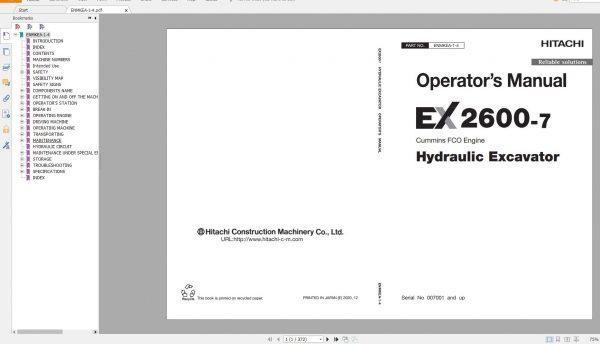 Hitachi-Mining-Excavator-EX-2021-10.9GB-PDF-Parts-Catalog-Technical-Manual-Workshop-Manual-Circuit-Diagram-DVD-11