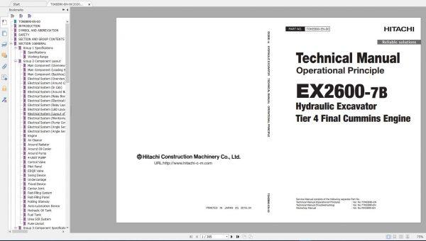 Hitachi-Mining-Excavator-EX-2021-10.9GB-PDF-Parts-Catalog-Technical-Manual-Workshop-Manual-Circuit-Diagram-DVD-14
