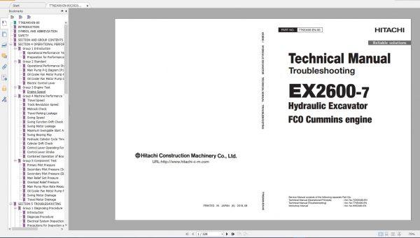 Hitachi-Mining-Excavator-EX-2021-10.9GB-PDF-Parts-Catalog-Technical-Manual-Workshop-Manual-Circuit-Diagram-DVD-15
