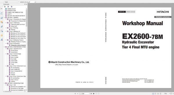 Hitachi-Mining-Excavator-EX-2021-10.9GB-PDF-Parts-Catalog-Technical-Manual-Workshop-Manual-Circuit-Diagram-DVD-18