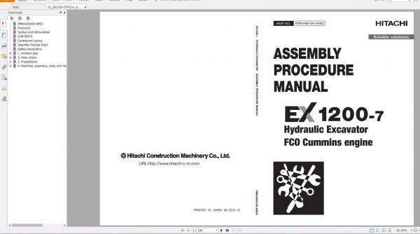 Hitachi-Mining-Excavator-EX-2021-10.9GB-PDF-Parts-Catalog-Technical-Manual-Workshop-Manual-Circuit-Diagram-DVD-2
