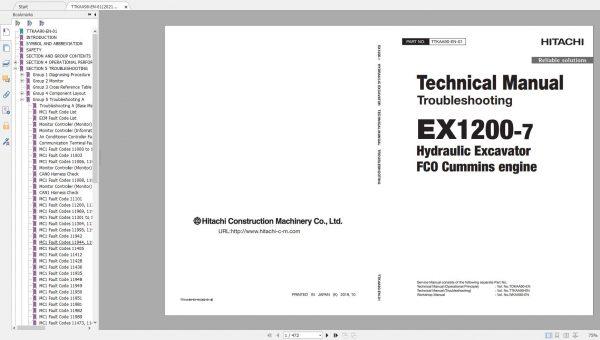 Hitachi-Mining-Excavator-EX-2021-10.9GB-PDF-Parts-Catalog-Technical-Manual-Workshop-Manual-Circuit-Diagram-DVD-6