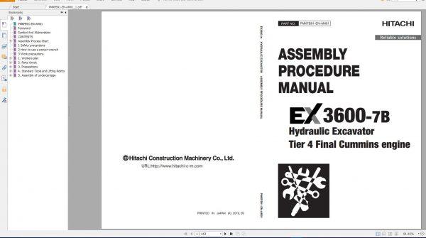 Hitachi-Mining-Excavator-EX-2021-10.9GB-PDF-Parts-Catalog-Technical-Manual-Workshop-Manual-Circuit-Diagram-DVD-9