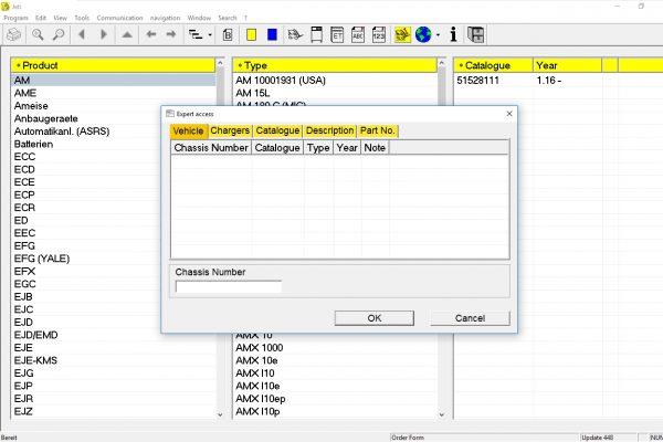 JUNGHEINRICH JETI ForkLift (ET) v4.36 Updated 448 07.2021 Spare Parts Catalog Full + Instruction 3