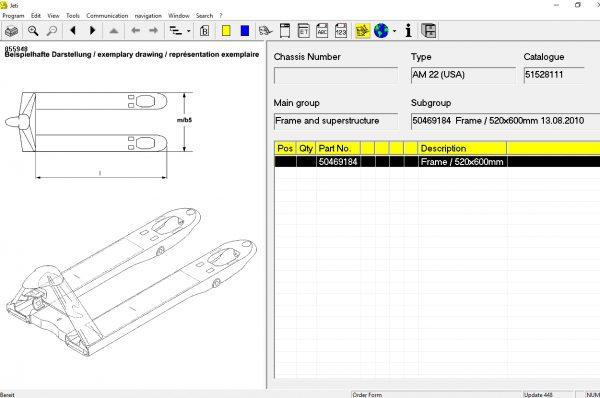JUNGHEINRICH JETI ForkLift (ET) v4.36 Updated 448 07.2021 Spare Parts Catalog Full + Instruction 6
