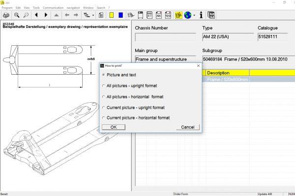 JUNGHEINRICH JETI ForkLift (ET) v4.36 Updated 448 07.2021 Spare Parts Catalog Full + Instruction 7