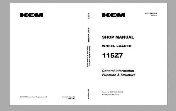 Kawasaki-KCM-Wheel-Loader-18.5GB-PDF-2021-Service-Manual-Part-Manual-and-Operation–Maintenance-Manual-10
