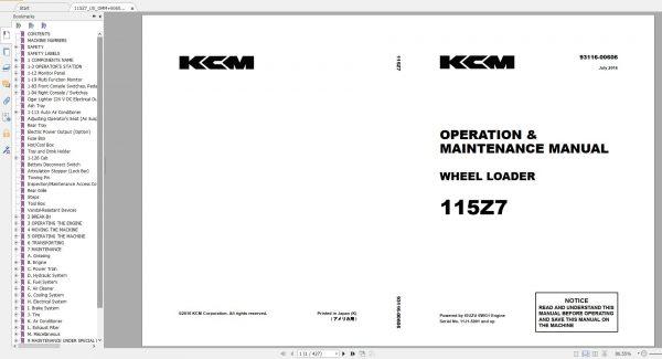 Kawasaki-KCM-Wheel-Loader-18.5GB-PDF-2021-Service-Manual-Part-Manual-and-Operation–Maintenance-Manual-2