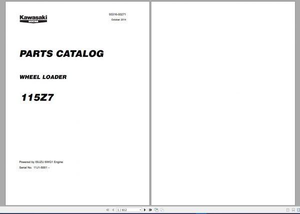 Kawasaki-KCM-Wheel-Loader-18.5GB-PDF-2021-Service-Manual-Part-Manual-and-Operation–Maintenance-Manual-5