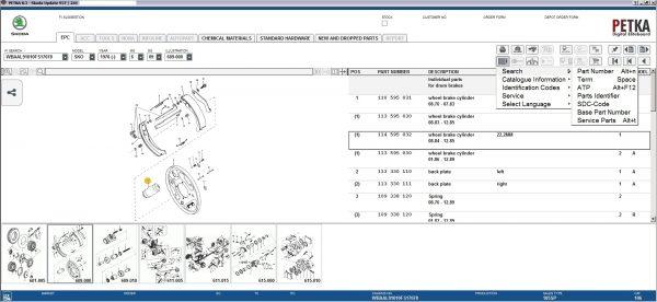 PETKA-8.3-Volkswagen—Seat—Skoda—Audi—Commercial-Vehicles—Porsche-05.2021-Spare-Parts-Catalog-DVD-17