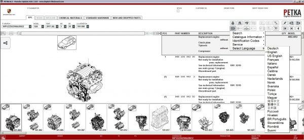 PETKA-8.3-Volkswagen—Seat—Skoda—Audi—Commercial-Vehicles—Porsche-06.2021-Spare-Parts-Catalog-DVD-13