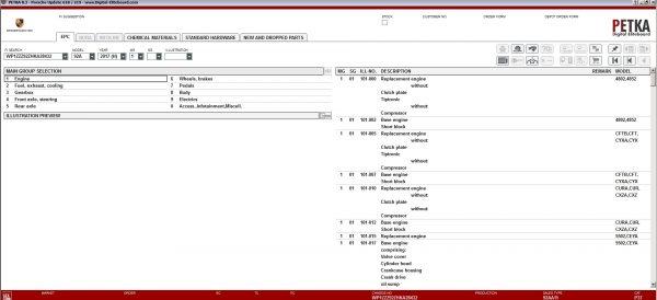 PETKA-8.3-Volkswagen—Seat—Skoda—Audi—Commercial-Vehicles—Porsche-06.2021-Spare-Parts-Catalog-DVD-9